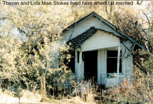 This old house of Theron Stokes is quite far up East Fork.