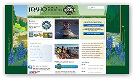 Idaho Department of Parks and Recreation Website